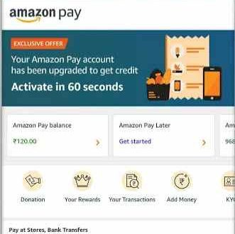 amazon pay new user offer